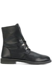 schwarze formelle Stiefel von Giuseppe Zanotti Design