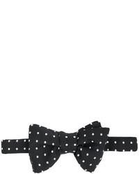 schwarze gepunktete Seidefliege von Tom Ford