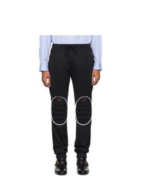schwarze gesteppte Jogginghose von Gucci