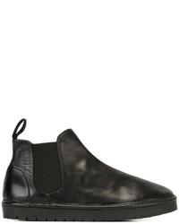 schwarze Gummi Stiefel von Marsèll