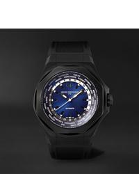 schwarze Gummi Uhr von Girard Perregaux