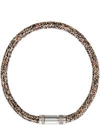schwarze Halskette von Acne Studios