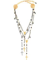schwarze Halskette von Dolce & Gabbana