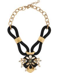 schwarze Halskette von J.Crew