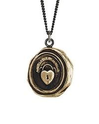 schwarze Halskette von Pyrrha