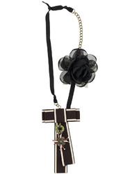 schwarze Halskette von Twin-Set
