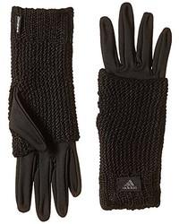 schwarze Handschuhe von adidas