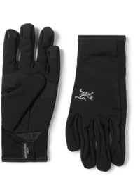 schwarze Handschuhe von Arc'teryx