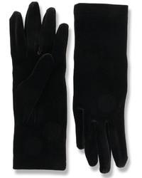 schwarze Handschuhe von Balenciaga
