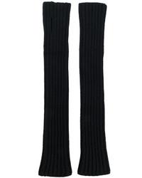 schwarze Handschuhe von Balmain