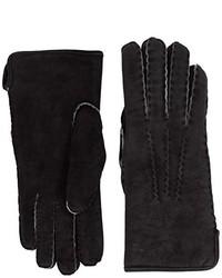 schwarze Handschuhe von Dents