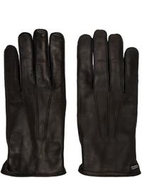 schwarze Handschuhe von Dolce & Gabbana