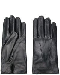 schwarze Handschuhe von Emporio Armani