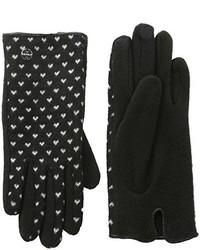 schwarze Handschuhe von Esprit
