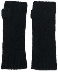 schwarze Handschuhe von Isabel Marant