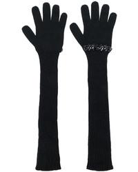 schwarze Handschuhe von No.21