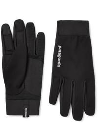 schwarze Handschuhe von Patagonia
