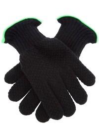 schwarze Handschuhe von Paul Smith