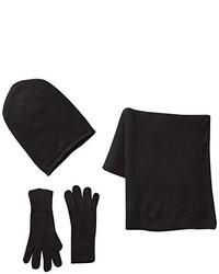 schwarze Handschuhe von Pieces
