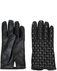 schwarze Handschuhe von Valentino Garavani