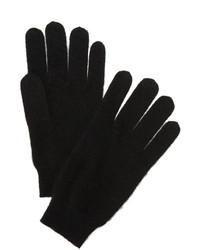 schwarze Handschuhe von White + Warren
