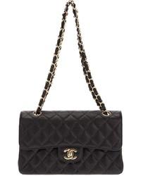 schwarze Handtasche von Chanel
