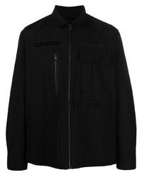 schwarze Harrington-Jacke von Diesel