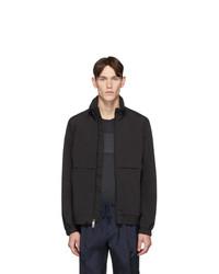 schwarze Harrington-Jacke von Woolrich