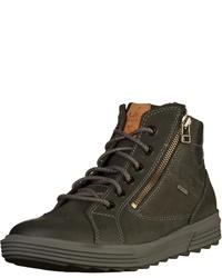 schwarze hohe Sneakers aus Leder von FRETZ men