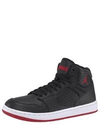schwarze hohe Sneakers aus Leder von Jordan