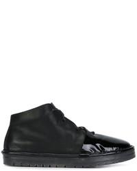 schwarze hohe Sneakers aus Leder von Marsèll