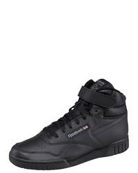 schwarze hohe Sneakers aus Leder von Reebok Classic