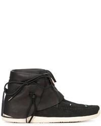 Schwarze Hohe Sneakers aus Leder von VISVIM