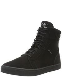 schwarze hohe Sneakers von Esprit