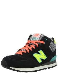 schwarze hohe Sneakers von New Balance
