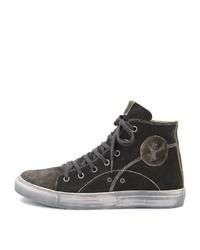 schwarze hohe Sneakers von SPIETH & WENSKY