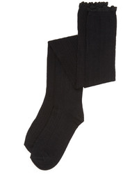 schwarze hohe Socken von Free People