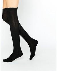 Schwarze Hohe Socken von Jonathan Aston