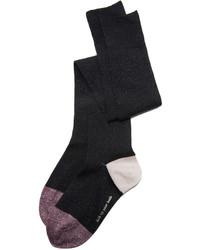 schwarze hohen Socken von Kate Spade