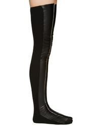 schwarze hohen Socken von Sacai
