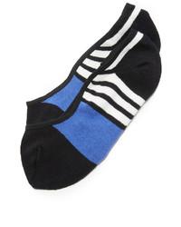 schwarze horizontal gestreifte Socken von Kate Spade