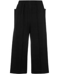 schwarze Hose von Issey Miyake