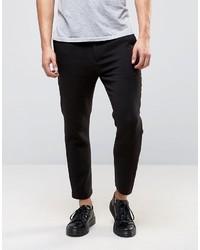 schwarze Hose von Weekday