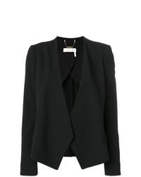 schwarze Jacke mit einer offenen Front von Chloé