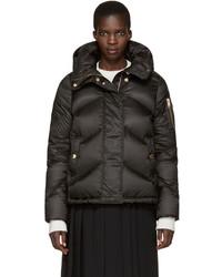 Schwarze Jacke von Burberry