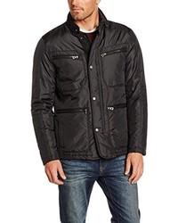 schwarze Jacke von Geox