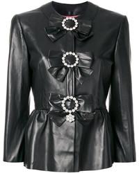 schwarze Jacke von Gucci
