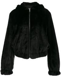 schwarze Jacke von Helmut Lang