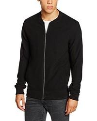 schwarze Jacke von JACK & JONES PREMIUM