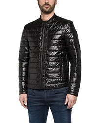 schwarze Jacke von Replay